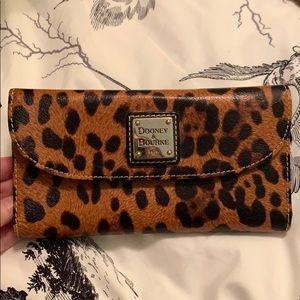Dooney and Bourke Leopard Print Wallet